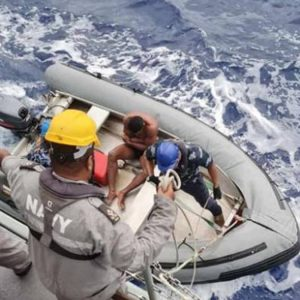 Fidżi Maritime Rescue, Decapitation Claims: wzywa marynarkę wojenną na poszukiwanie zaginionej załogi rybackiej