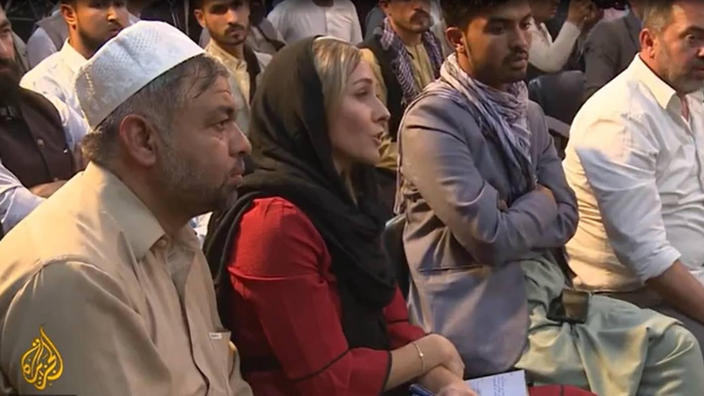 Reporter z Nowej Zelandii w Afganistanie pyta przywódców talibskich o prawa kobiet: Jakie możesz im zapewnić?