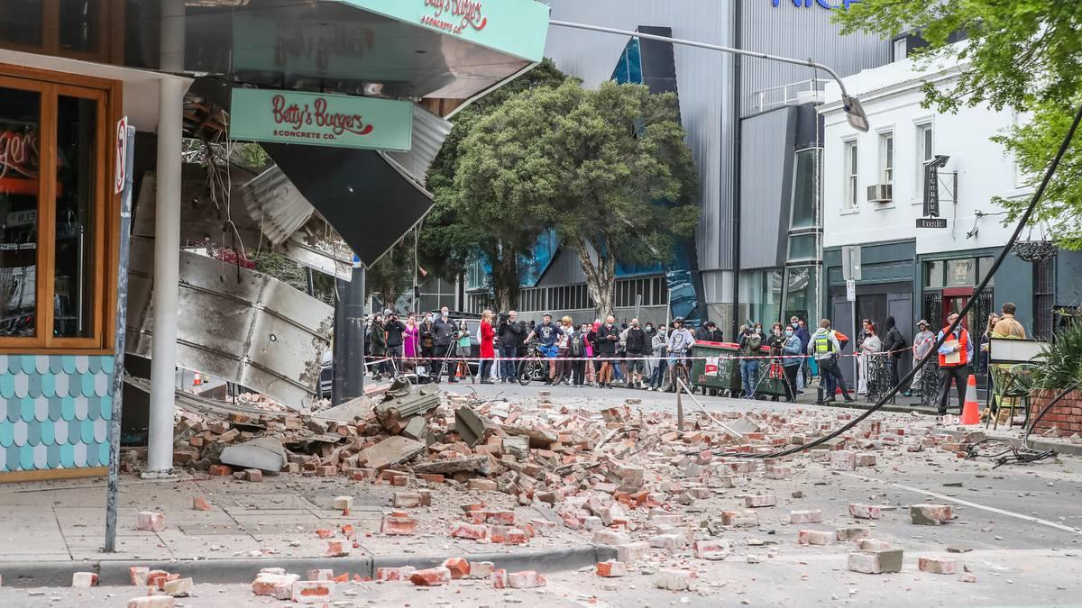 """Trzęsienie ziemi w Melbourne: """"zapobieganie katastrofom"""" w odległym epicentrum, w trzęsieniu ziemi o magnitudzie 5,9 magnitudo w Wiktorii"""