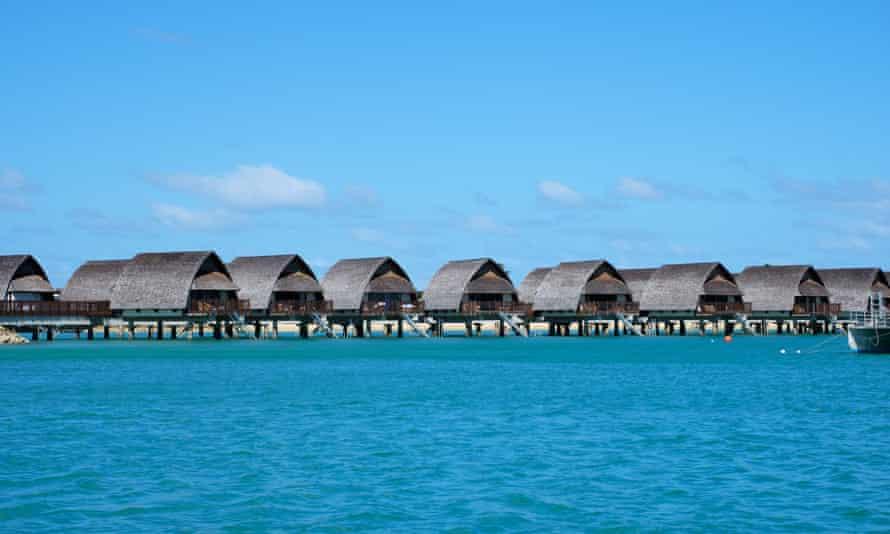 Bungalowy nad wodą w Maumee Marriott Resort na Fidżi