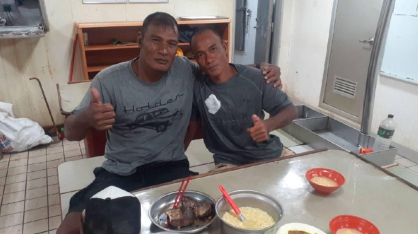 Załoga FSM uratowała zaginionych kłusowników z Kiribati